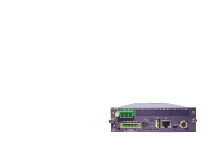 OTU-5000 Optical Test Unit Automate optical network monitoring with the most compact remote OTDR!